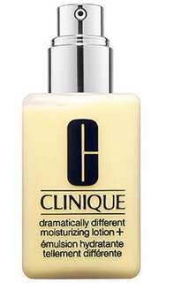 Clinique dramatically different moisturiser