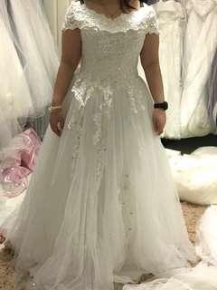 Wedding Gown Rental $188