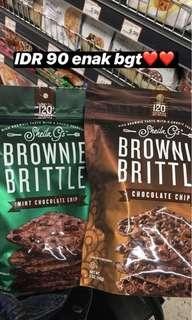 Brittle brownie