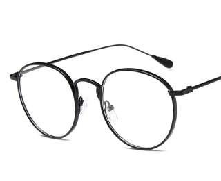 New Trend Korean Retro Big Optical Metal Frame
