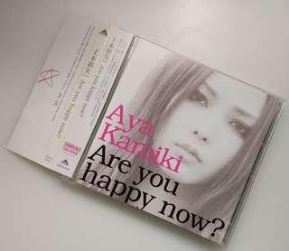 日版初回 上木彩矢 Are You Happy? CD+DVD