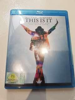 🚚 michael jackson this is it blu ray bluray