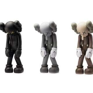 KAWS - SMALL LIE (Set of 3)