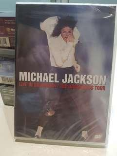 🚚 michael jackson live in bucharest the dangerous tour dvd