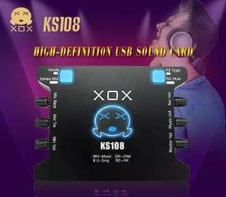 Sound Card External XOX KS 108