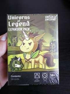 Unstable Unicorns Legend Expansion Pack