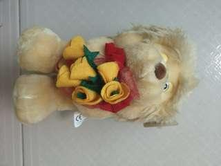 🚚 Soft Toys - Buzzy Bear with Flower bouquet 💐