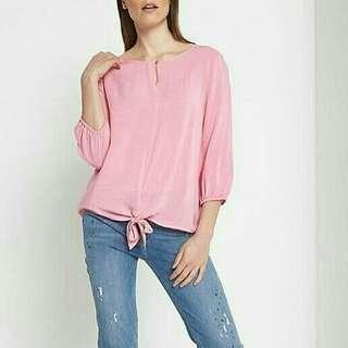 Comma pink blouse
