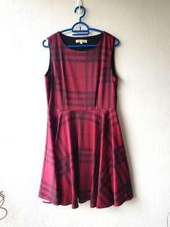 Maroon Dress (L)