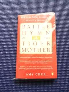 Battle hymn of the tiger mother(by amy chua)