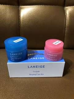 Laneige 睡眠面膜 sleeping care kit