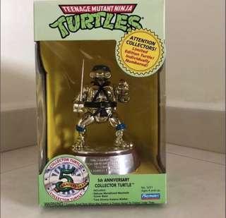 Ninja turtles 5th anniversary collector turtle