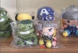 Marvel soft toy BRAND NEW (set)