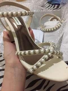 Valencia By Enrica x Cynthia Tan Athen Heels Size 38 NEW!!
