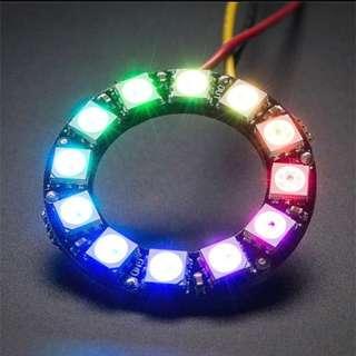 🚚 Brand New 12 Programmable LEDs Ring WS2812 NeoPixel Adafruit Arduino Microbit Raspberry Pi