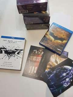 🚚 the dark knight trilogy special edition 6 disc bluray blu ray