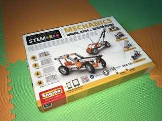 Engino discovering STEM mechanics(全新未開封)