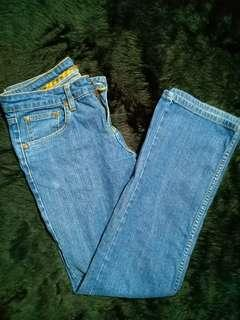 Ladies maong pants