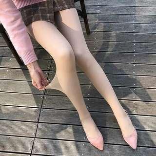 光腿神器 膚色薄絨 絲襪