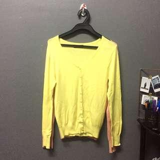 (ADULT) 2pcs for rm8 Cardigan yellow & pink pastel