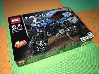 Lego technic 42063: BMW R 1200 GS adventure