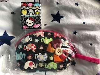 泰國象仔細化粧袋