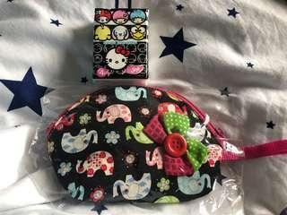 泰國象仔化粧袋
