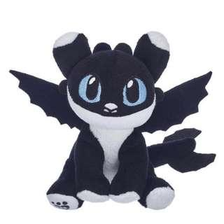 🚚 (For Sale Only) BNWT baby black & white nightlight with blue eyes - BAB