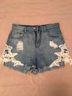Pop Cherry Lace Shorts