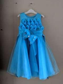 🚚 Blue Party Dress