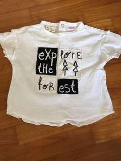 Brand New Zara Baby Boy Tshirt