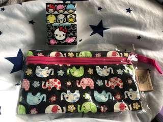 泰國象仔筆袋/化粧袋