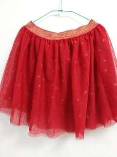 ZARA女童紗裙