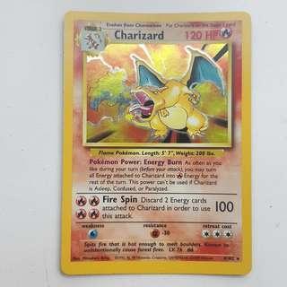 Pokemon Card base set Charizard