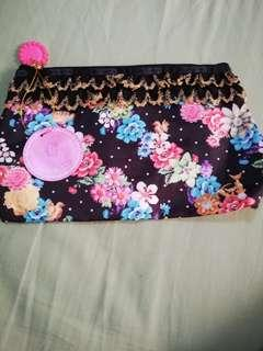 LeSportsac pouch (collaboration with Benefit)