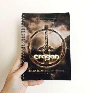 🚚 BN Eragon Movie Limited Edition A5 Notebook