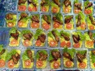 Nasi ayam jando