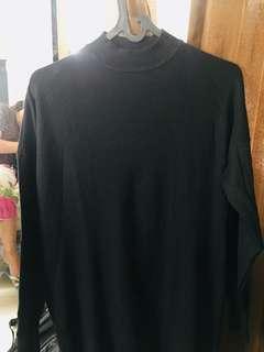 Dress turtle nect hitam polos