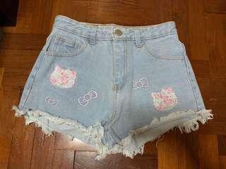 🚚 Hello Kitty High Waist Shorts