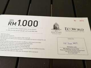Maju Home Rm1000 voucher