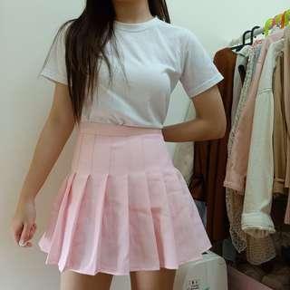 軟妹款✨粉色百褶裙