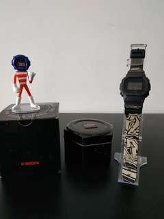 Casio G-Shock DW-5600BB-1 Battle Of The Year Japan Limited Edition #STB50