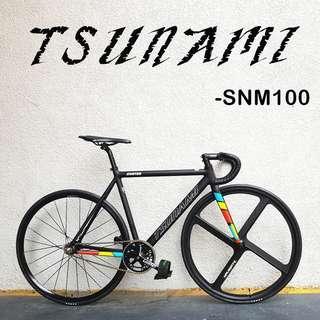 TSUNAMI SNM100 - Full bike/ Frameset,  Pro light, Higher specification, AL alloy Frameset, best option for all beginner and mid level player.