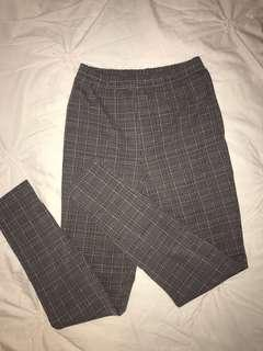 Checkered pants