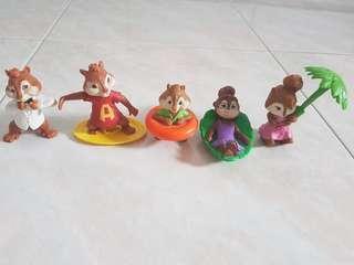 🚚 5 Alvin & Chipmunks Figures & Collectibles