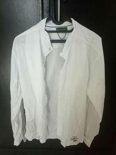 Kemeja putih legion #mauheadset