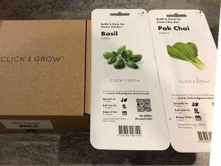 🚚 Click and Grow pods refill pack smart garden