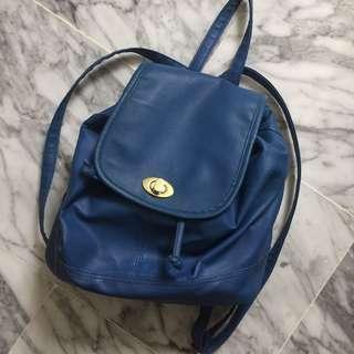 🚚 Blue Backpack