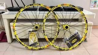 "New Mavic Deemax 26"" Wheelset"