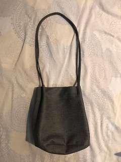 Minimalist Gray Korean Bag